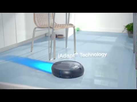 robot laveur de sol scooba 300 youtube