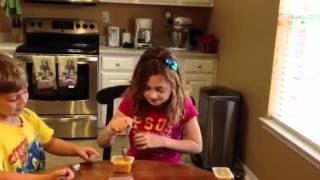 Emily &amp Jacob baby food challenge