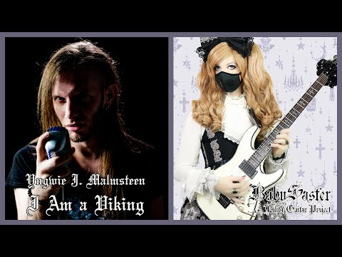 【Yngwie Malmsteen】 - 「I Am a Viking」VOCAL + GUITAR COVER † BabySaster & Mike Livas