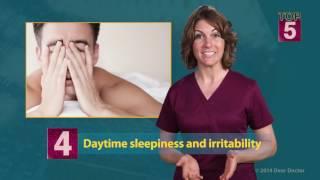 Top 5 Signs You May Have Sleep Apnea - Educational Video
