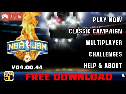 How To Download NBA JAM V04.00.44 On Android For Free