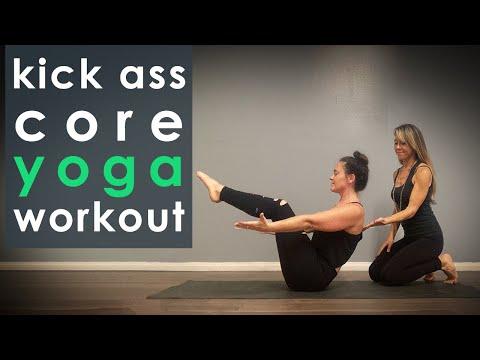 Kick Ass Core Yoga Workout (yoga for core)