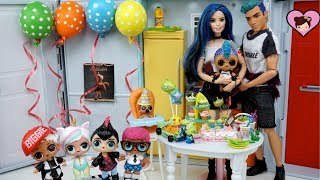 LOL Punk Boi Family Surprise Birthday Party! Games & Presents