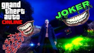 GTA 5 online - How to Create The Joker