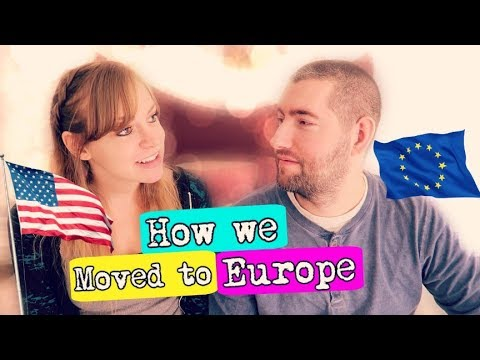 🌍 How two Americans moved to Europe WITHOUT WORK VISAS ✈ | Story Time