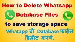 Whatsapp database