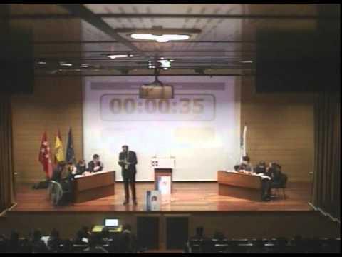 Final del X aniversario del Torneo de debates Francisco de Vitoria