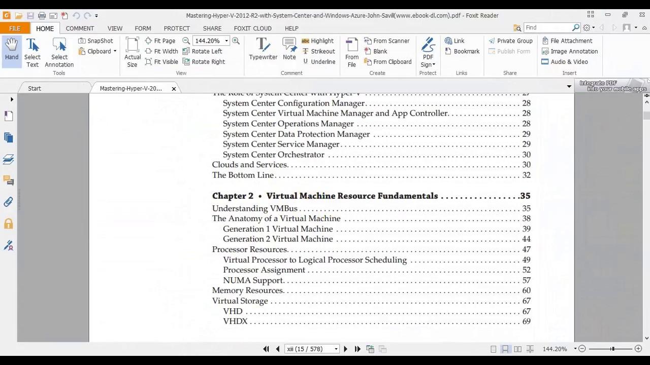 Virtual Machine Resource Fundamentals (Hyper-V)