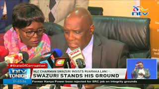 NLC Chairman Swazuri insists Ruaraka land is private