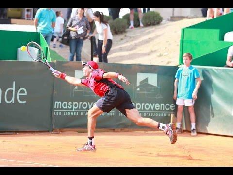 Carlos Berlocq vs. Rogerio Dutra Silva | CF Aix en Provence 2016 [Highlights]
