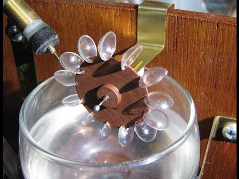 Making the Little Water Wheel - YouTube
