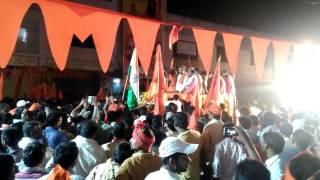 Bandi sanjay||hindu ekta yatra||hanuman||jayanthi|| at karimnagar||2017