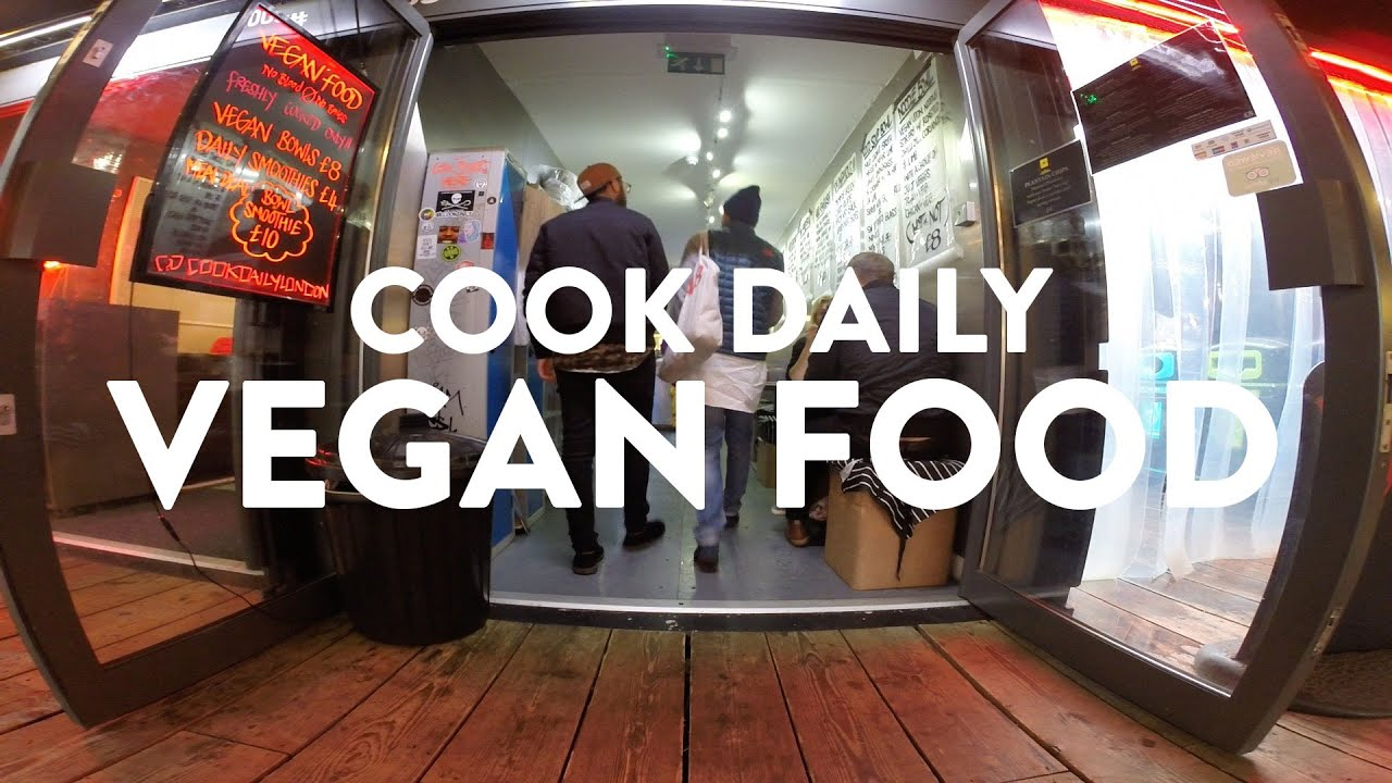 Vegan Food London Cook Daily Boxpark Shoreditch