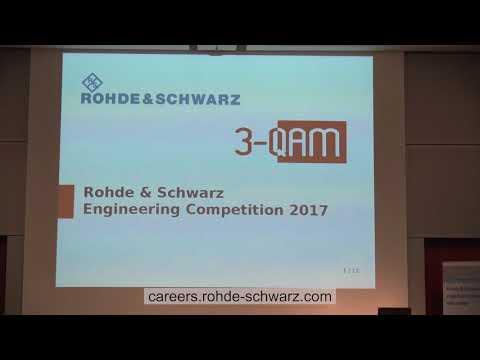SDRA 2017: Rohde&Schwarz Engineering Competition