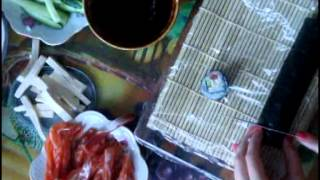 Приготовление суши , роллов дома.Видео с подробным рецептом(, 2014-05-27T08:40:48.000Z)