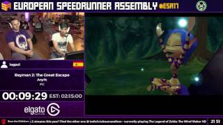 #ESA17 Speedruns - Rayman 2: The Great Escape [Any%] by lagpu1