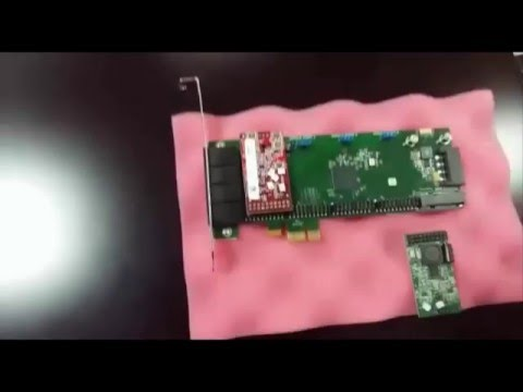 Elastix Video Training - Hardware PCI PSTN Card. Lecture 03