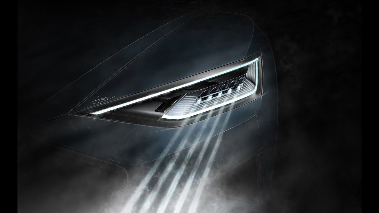 Audi Matrix Laser Headlights Future Technology Youtube