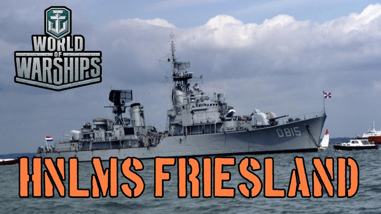 World of Warships - HNLMS Friesland