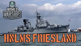 World of Warships - HNLMS Friesland