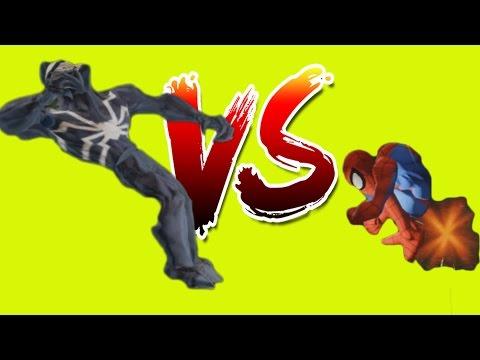 Spiderman VS Black Spiderman