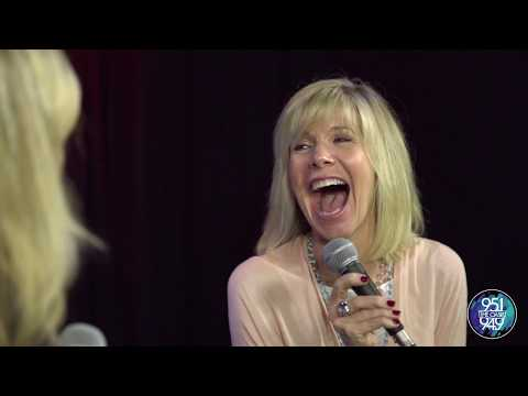 Debby Boone sings and talks with Monica
