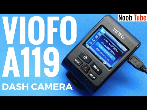 Unboxing £58 Viofo A119 Car Dash Cam Review 2K @ 30FPS Best Value 1080P @ 60 FPS Stealth Camera 2016