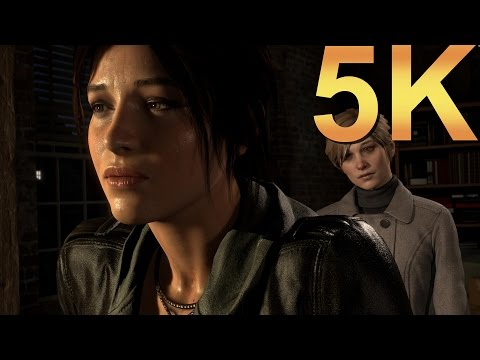 Rise Of The Tomb Raider 5K Maxed Out High Resolution PC Gaming 4K | 5K | 8K And Beyond