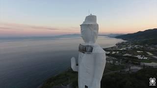 【ドローン 4K空撮】廃墟 淡路島 世界平和大観音