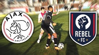 AJAX VS REBEL FC! 10+ GOAL THRILLER