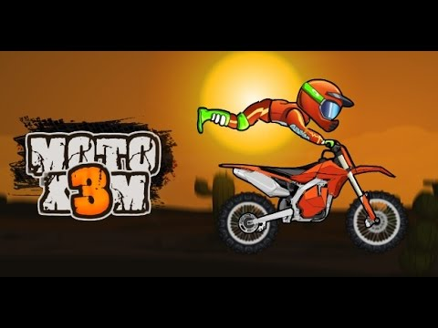 Juego Carrera De Motos Para Niños Videos Para Niños Moto X3m Youtube
