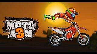 motorcycle race game for children, children's videos - Moto x3m