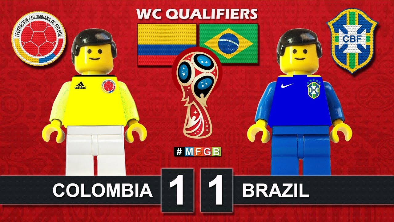 World Cup 2018 Qualifiers Brazil Vs Colombia