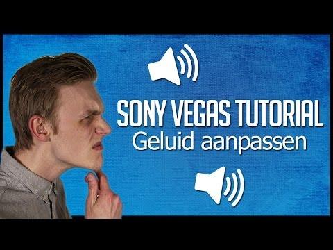 Sony Vegas Tutorial - Geluid Aanpassen / Bewerken