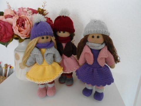Amigurumi Molly & Kelly Doll Crochet Free Patterns - Crochet ... | 360x480