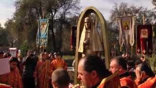Освящение памятника великой княгине Елисавете Романовой. 5 ноября 2014