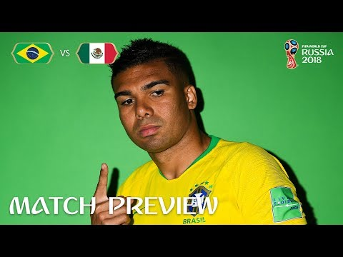 CASEMIRO (Brazil) - Match 53 Preview - 2018 FIFA World Cup™