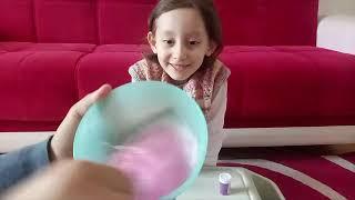 Slime Yapıyoruz Eğlenceli Çocuk Videosu