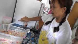 Making Filipino Fruit Salad - A Favorite Dessert in the Philippines