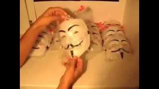 Обзор маски гая фокса (обозревает Константин Ильюхин) Сеть магазинов