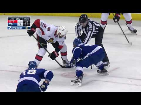 Ottawa Senators vs Tampa Bay Lightning - February 27, 2017 | Game Highlights | NHL 2016/17