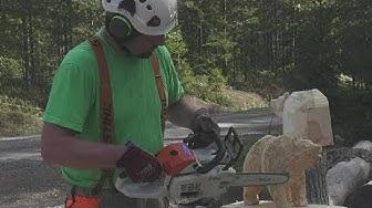 Jorma Frisk - Moottorisahaveistoksia / chainsaw sculpturing