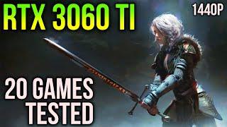RTX 3060 Ti + RYZEN 7 5800X | 20 GAMES at 1440p
