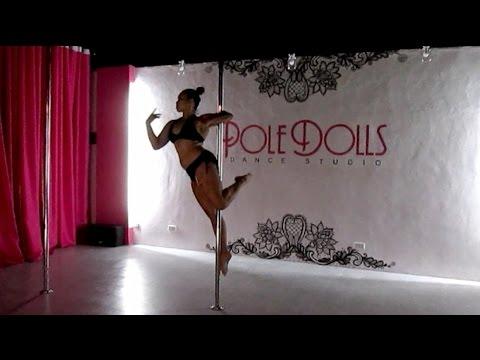 Pole Dance Choreography - Chandelier (Acoustic) | Paula Colõn