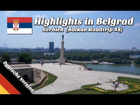 Sehenswürdigkeiten in Belgrad, Serbien (Balkan Roadtrip, Folge 08)