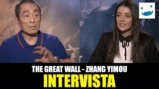 The Great Wall: BadTaste.it Intervista Zhang Yimou!