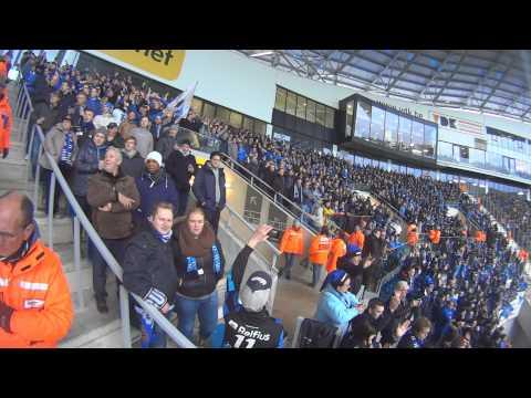 K.A.A. Gent - Club Brugge K.v. |North Fanatics| 22/12