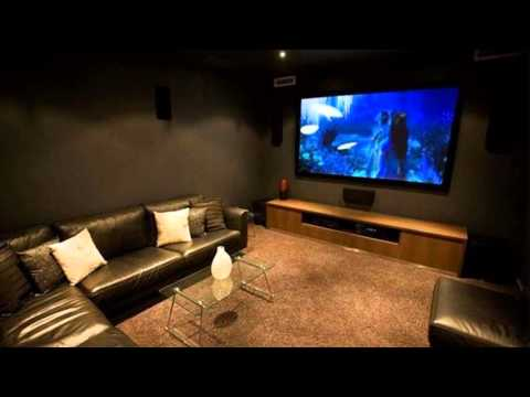 media room decorating ideas - YouTube