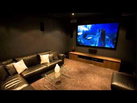 media room decorating ideas  YouTube
