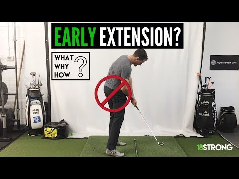 Early Extension Golf Swing: What? Why? How